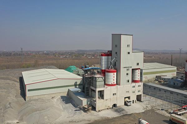 南方路机干混制砂一体机应用于沈阳龙运集团