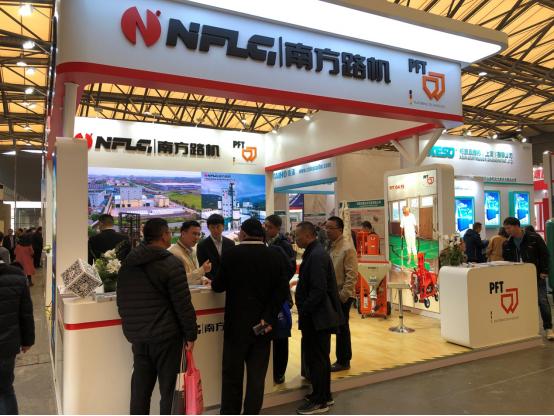 九州体育app下载携制砂干混搅拌设备亮相亚洲混凝土世界博览会