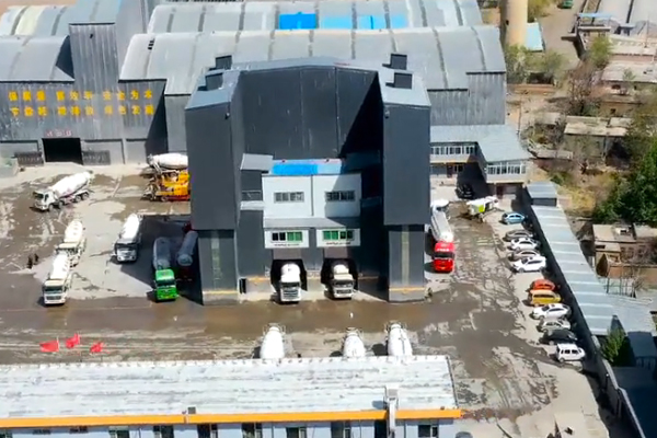 南方路机建材产业链整体解决方案应用于山西耀辉