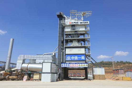 南方路机GLB5000型沥青混合料搅拌设备应用于广西正路集团