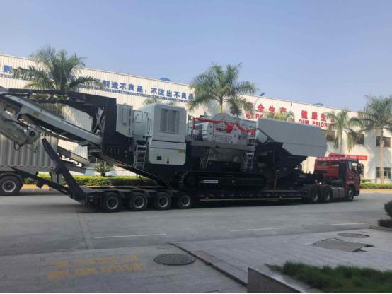 快讯丨九州体育app下载履带移动破碎设备NFJ1480发往四川