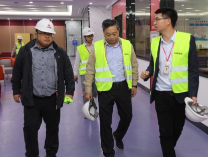 寧波交通工程建設集團有限公司領導一行來訪南方路機