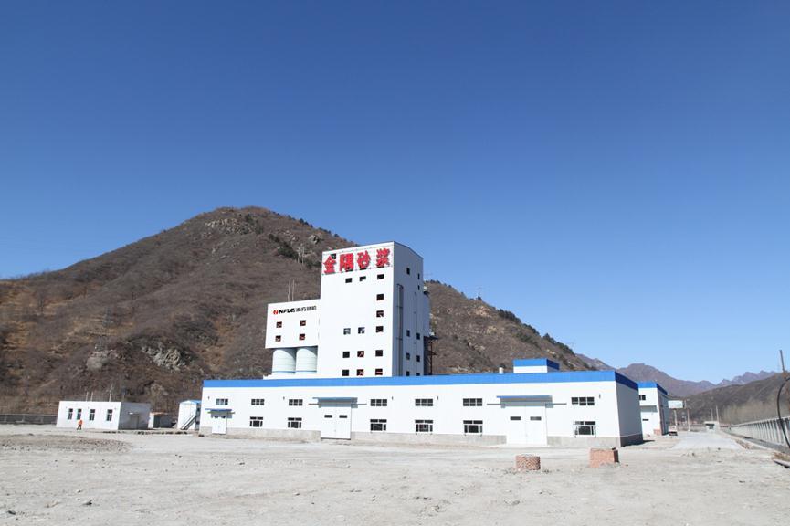 金隅砂浆有限公司承德生产线