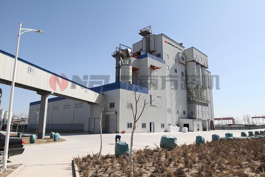 金隅砂浆有限公司平谷生产线