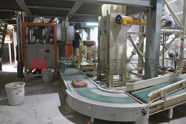 特种砂浆生产流程