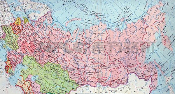 俄罗斯地图图片
