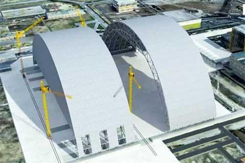 乌克兰切尔诺贝利核反应堆