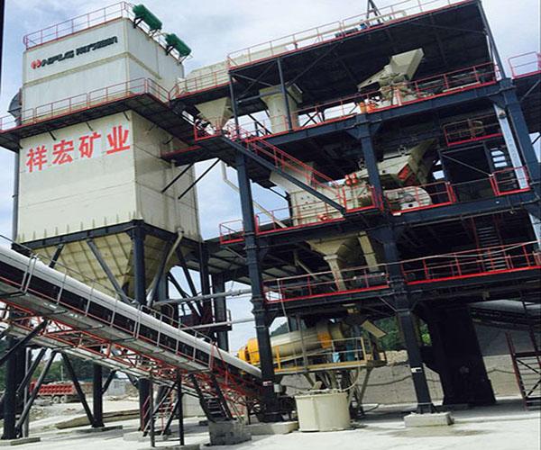 重庆宏祥矿业—V7-100干式制砂机应用