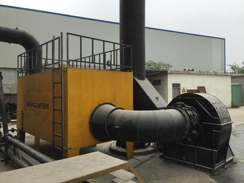 大臿蕉香蕉大视频瀝青攪拌站装车区环保设备高效消除蓝烟粉尘