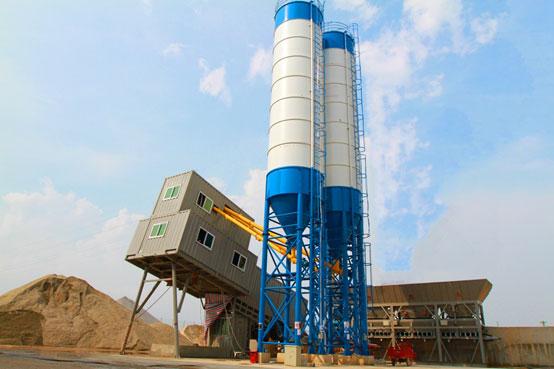 廣東長大一公司——南方路機HZS100環保移動式混凝土攪拌站