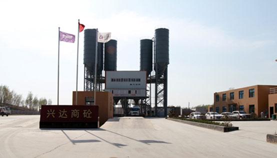 河南-兴达商砼南方路机商混搅拌站与湿混回收设备的应用