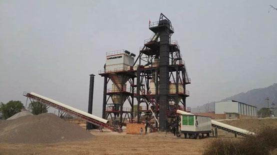山西定襄――南方路机S3-1030干〓式整形制砂设备的应用