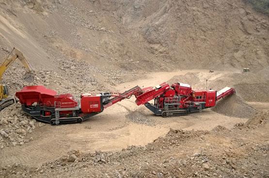 南方路机移动破碎设备在山西矿山石料生产线的应用
