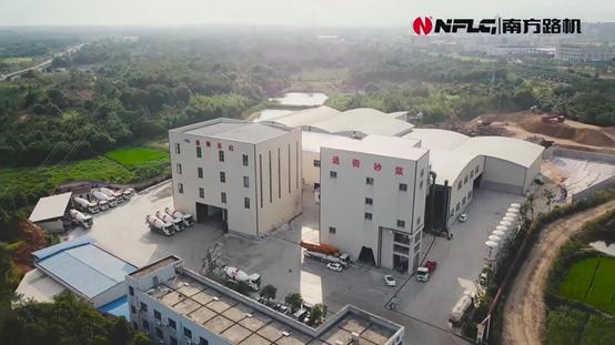 南方路機制砂干混整體解決方案應用于浙江龍游通衢建材有限公司