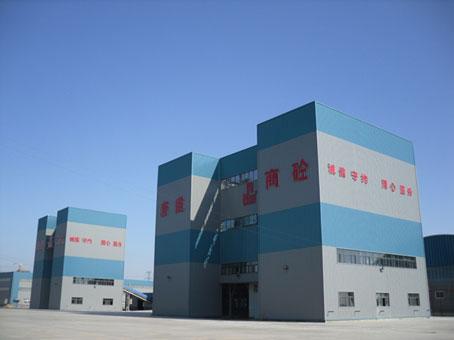 河北唐建集团,南方路机全环保商混站的应用
