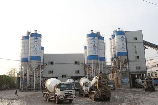 湖北鑫祥,南方路机商品混凝土搅拌设备的应用