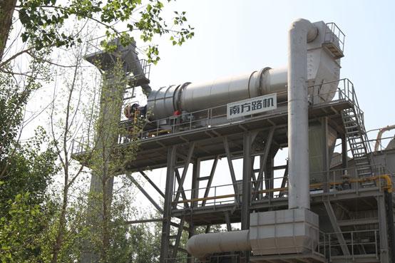 北京京联鑫——南方路机沥青混合料搅拌+厂拌热再生系列设备的应用