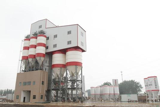 河北瑞和商砼——南方路机干混砂浆搅拌设备的应用