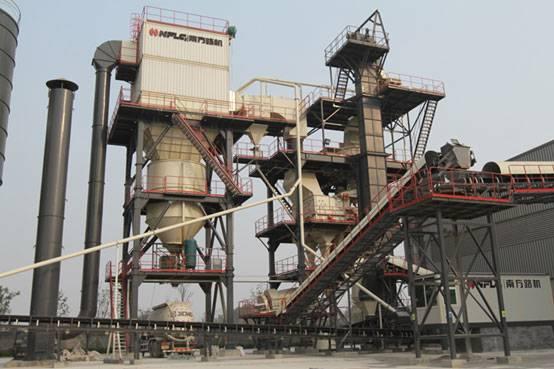 南方路機V7干式制砂設備在壽光潤城建材的應用