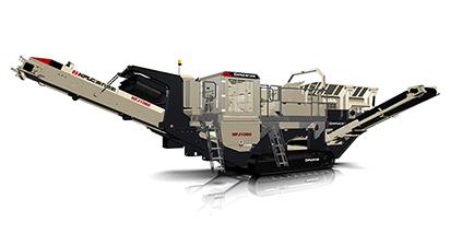 NFJ1060履带移动颚式破碎站