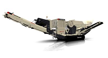 NFJ1175履带移动颚式破碎站