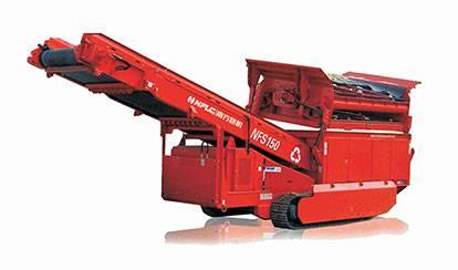 NFS150履带移动重型格筛设备