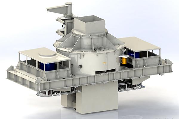 主機分級 低速制砂 南方路機US系列整形制砂機