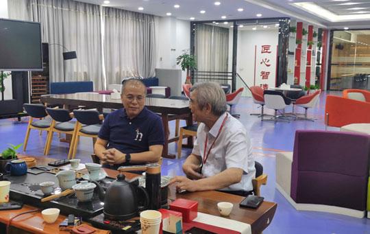 廣西大學馮慶革教授來訪南方路機探討建筑固廢處理及資源化利用