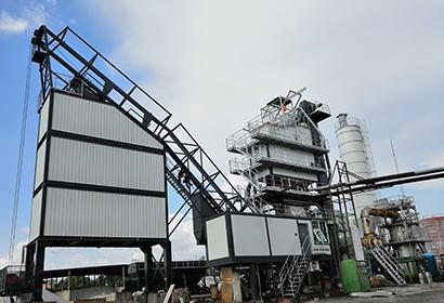 LB型成品倉旁置式瀝青混合料攪拌設備
