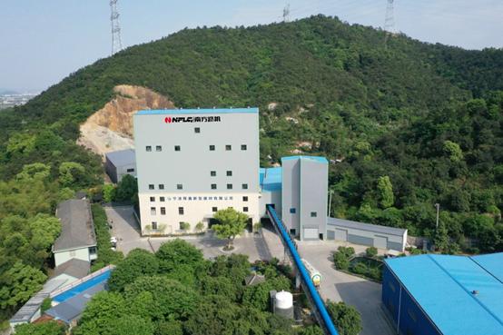 南方路機干混砂漿攪拌設備應用于寧波舜鑫新型建材有限公司