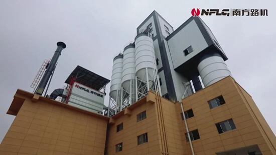 南方路机干混+商混整体解决方案应用于江苏铨旺建材科技有限公司