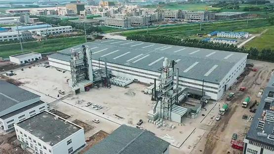 新站丨吉林省交通实业发展有限公司两套易胜博体育沥青拌合站投产
