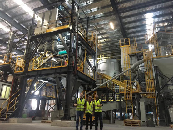 南方路机FBC2000型干混砂浆搅拌设备应用于澳大利亚