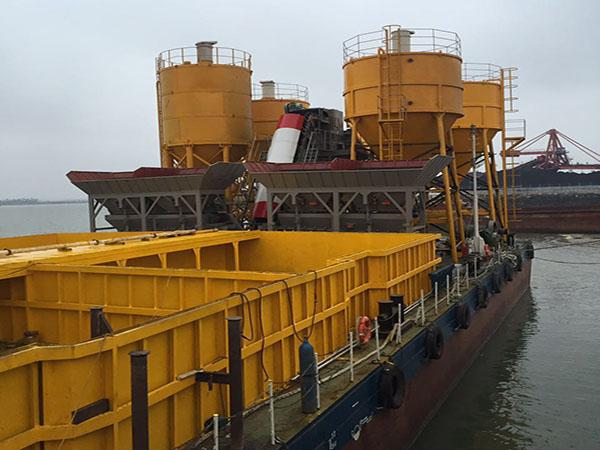 HCS120 +HCS75海工用混凝土攪拌船