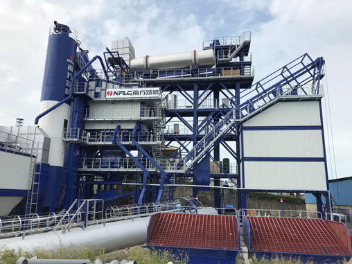 守衛同一片藍天   南方路機環保型瀝青混合料攪拌設備應用于臺灣