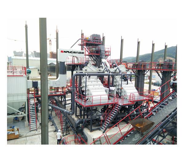 廣東長大,南方路機精品集料生產線成套設備應用