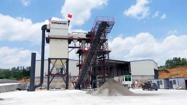 懷化明達建材,南方路機V7-100干式制砂設備應用