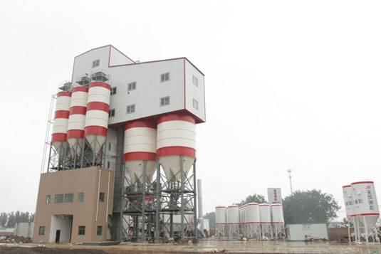 河北瑞和商砼——南方路機干混砂漿攪拌設備的應用